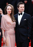 Angelina Jolie and Brad Pitt in 2009