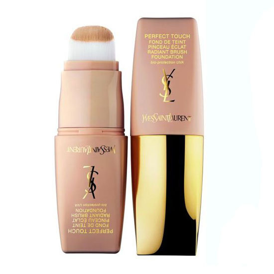 Yves Saint Laurent Perfect Touch Radiant Brush Foundation, $85