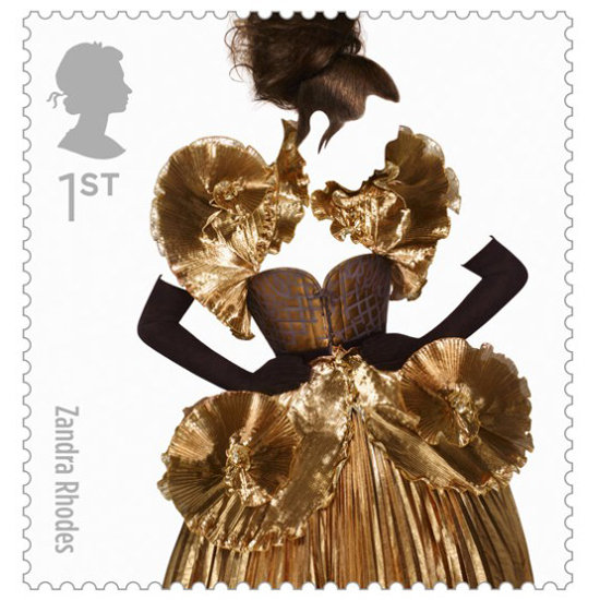 Royal Mail Releases Great British Fashion Stamps