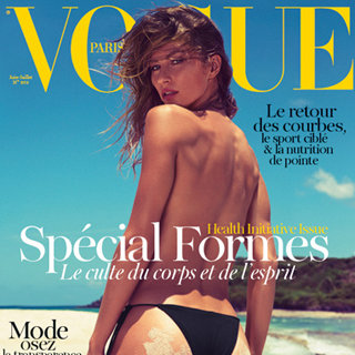Gisele Bundchen Vogue Paris June 2012 Health Issue Cover