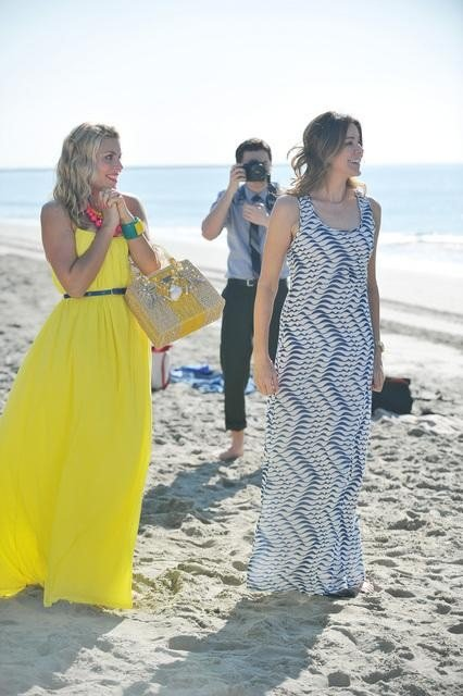 Busy Philipps, Christa Miller, and Dan Byrd on Cougar Town. Photo copyright 2012 ABC, Inc.