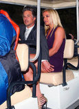 Britney Spears and Jason Trawick sat close together on the way to the Fox Upfronts party in NYC.