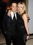 Kate Moss and Jamie Hince posed for photos together at the Marie Curie Cancer Care Fundraiser in London.