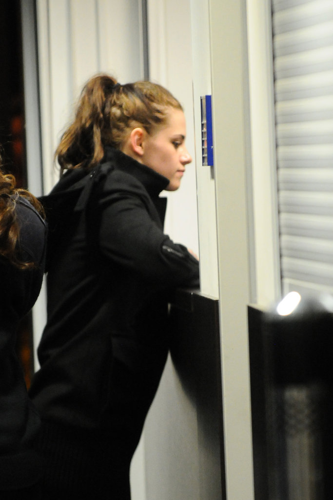 Kristen Stewart touched down in Berlin.