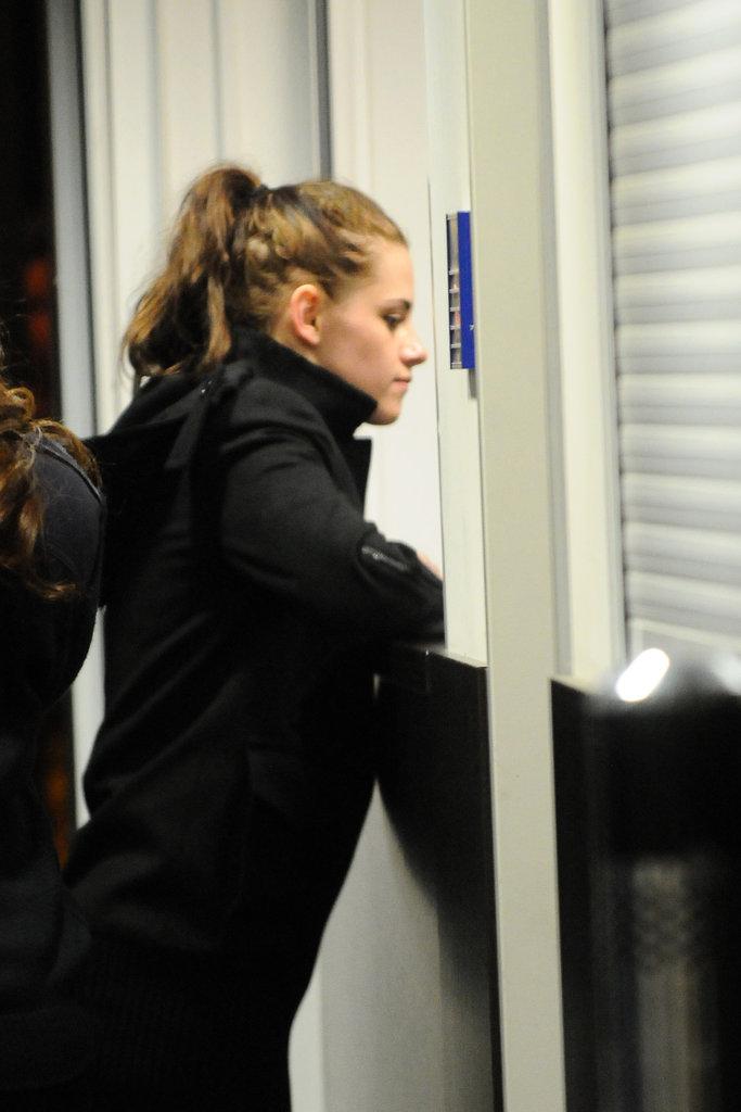 Kristen Stewart touched down in Berlin.