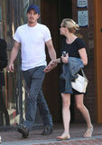 Kirsten Dunst and Garrett Hedlund Hold Hands For a Cute Couple's Afternoon