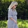 Reese Witherspoon Wearing Polka Dot Dress in LA Pictures