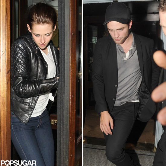 Robert Pattinson and Kristen Stewart Celebrate Her SWATH Premiere Late Night
