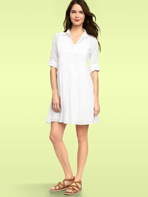 Gap Pintucked Shirtdress ($60)