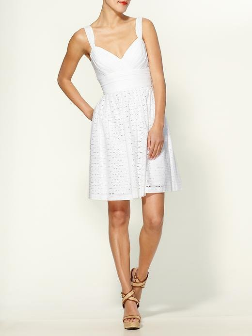 Shoshanna Giselle Eyelet Dress ($340)