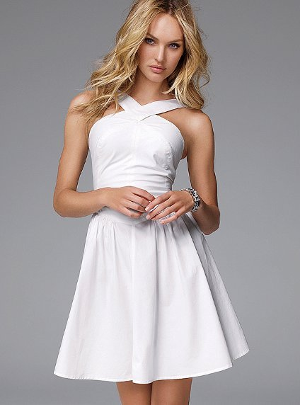 Victoria's Secret Crisscross Dress ($80)