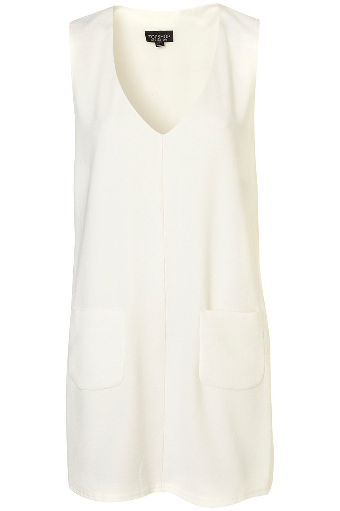 Topshop Pocket Shift Dress ($80)