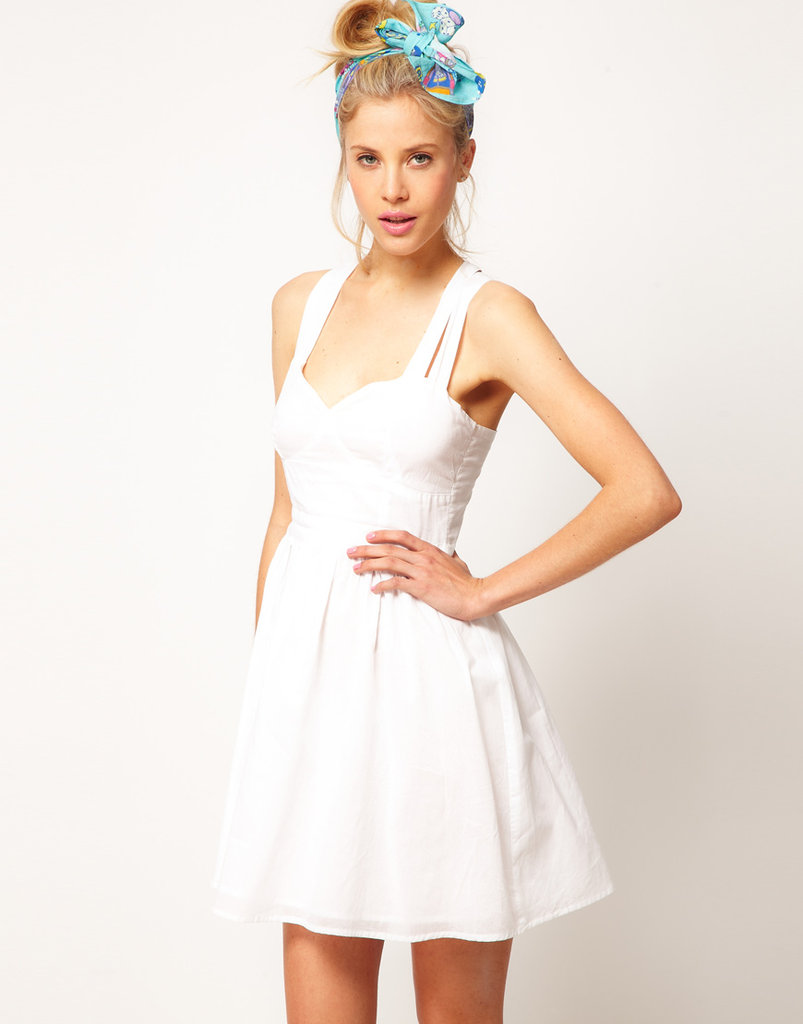 Asos Summer Dress With Sweetheart Neck ($39)