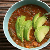 Lentil Veggie Soup With Avocado