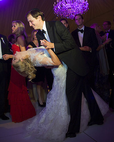 Jared Kushner and Ivanka Trump's Dance Floor Dip