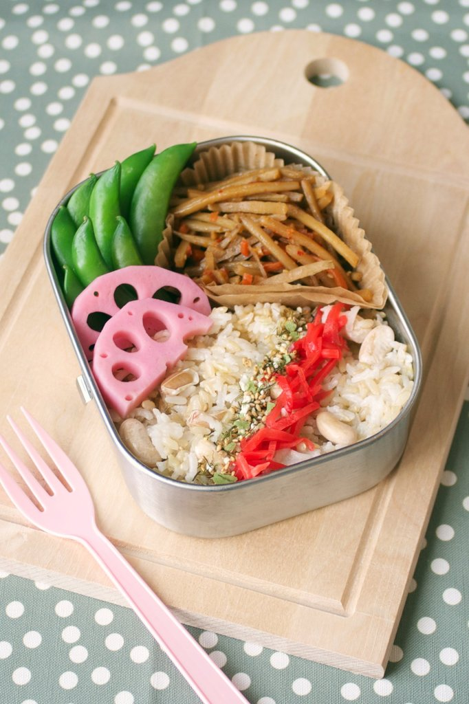 Burdock and Lotus Bento