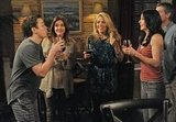 Busy Philipps, Christa Miller, Courteney Cox, and Dan Byrd on Cougar Town. Photo copyright 2012 ABC, Inc.