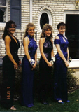 """Blue halter gowns with sparkles and matching shoes were all the rage. LOL!""  — Jaime Richards, email marketing manager"