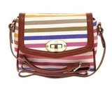 A cool take on rainbow stripes that doesn't strike a cheesy note. Aldo Orear Stripe Bag ($61)