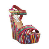 The embroidery on these has a unique, ethnic-inspired flare that'll stand out against your LWDs.  Steve Madden Winonna Wedge ($100)
