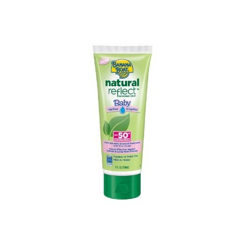Banana Boat Natural Reflect Baby Sunscreen Lotion ($11)