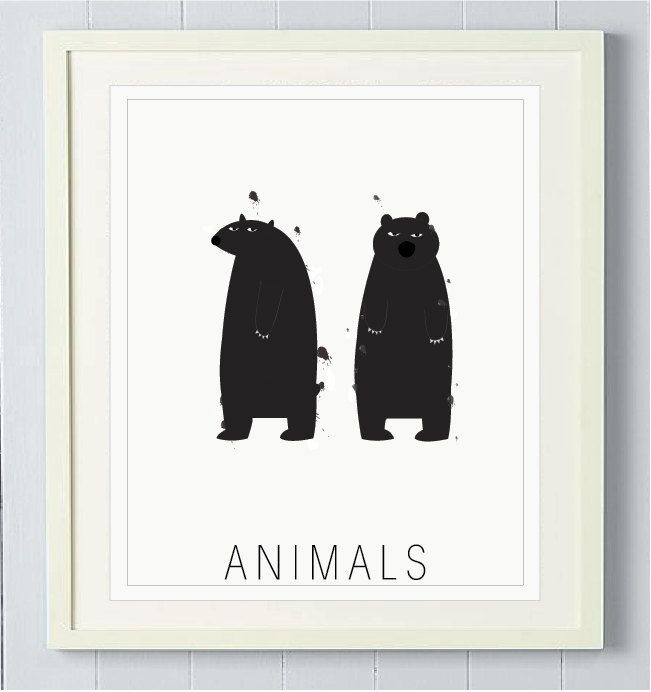 ModernPop Animals Print ($50)