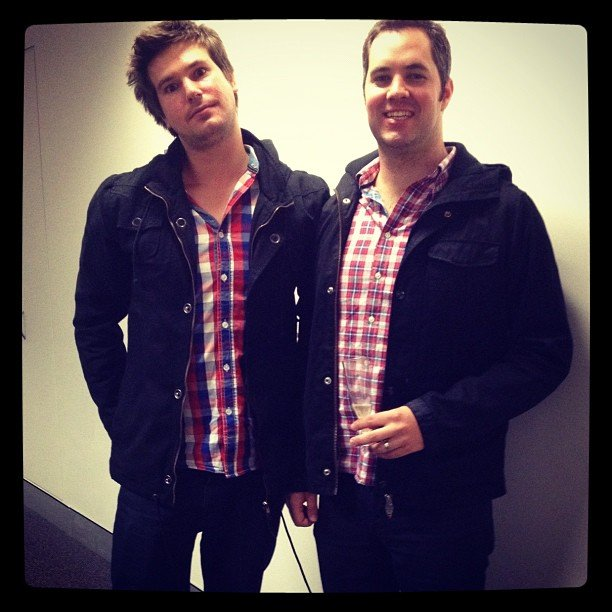 Style snap! Sales guys Eric and Chris seem to be channelling each other when they get dressed in the morning.