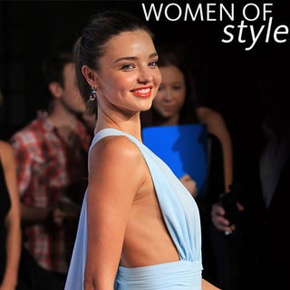 Celebrity Red Carpet Round Up from InStyle Magazine's 2012 Women of Style Awards: Miranda Kerr, Lara Bingle + more!