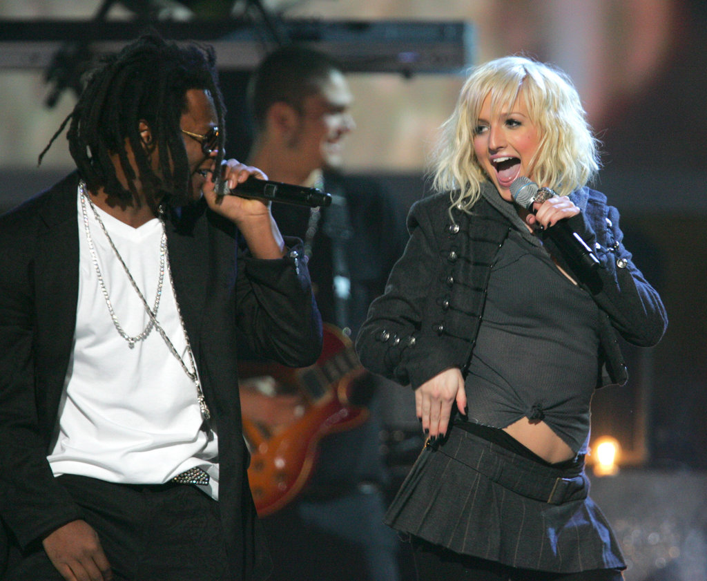 In 2005 Ashlee Simpson performed with Pretty Ricky.