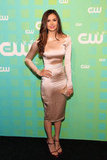 Nina Dobrev attended the CW Upfront in NYC.