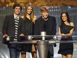The O.C. cast took the stage in 2003.