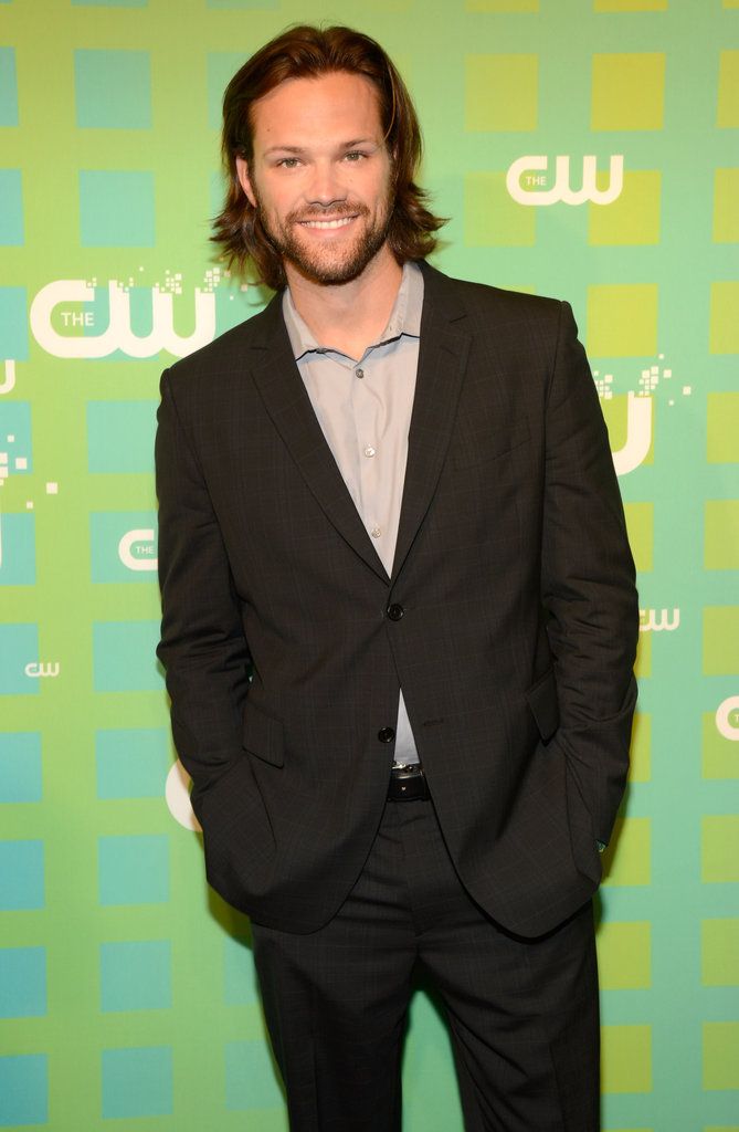 Supernatural star Jared Padalecki was all smiles on the press line.
