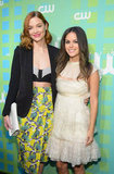 Jaime King and Rachel Bilson posed together in NYC at the CW Upfront.