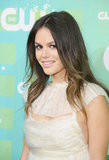 Rachel Bilson smiled for the cameras in NYC.