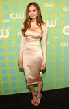 Nina Dobrev was stunning at the CW Upfront in NYC.