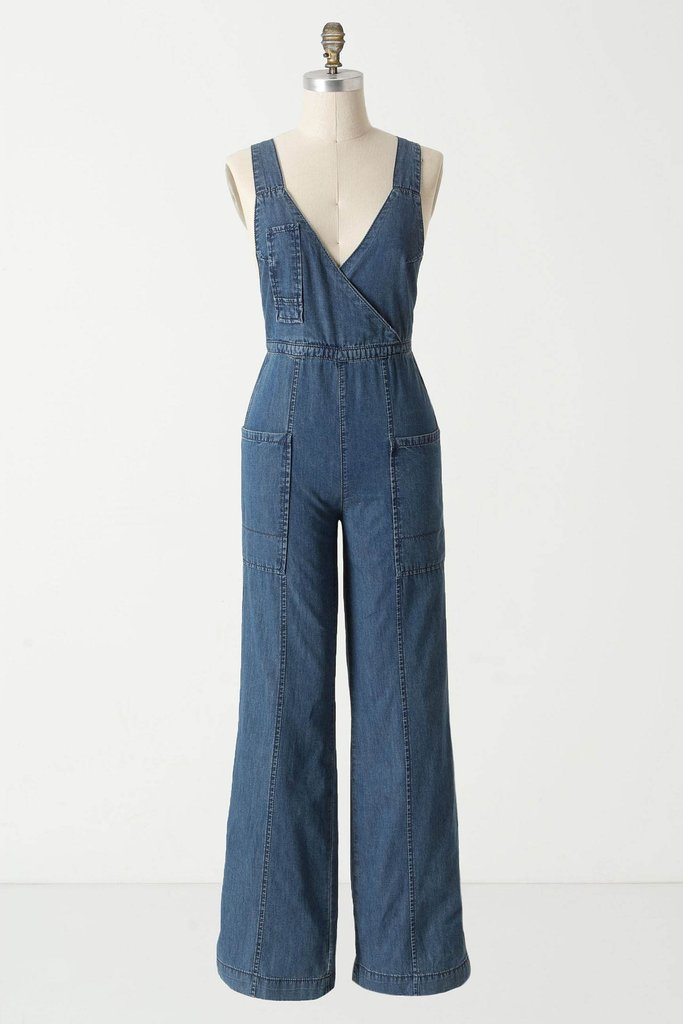 The fitted shape will ensure that your figure's not lost — just add wedges for a playfully chic Summer style.  Holding Horses Surplice Jumpsuit ($128)