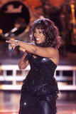 Donna Summer performs at a tribute to Diana Ross in 2000.