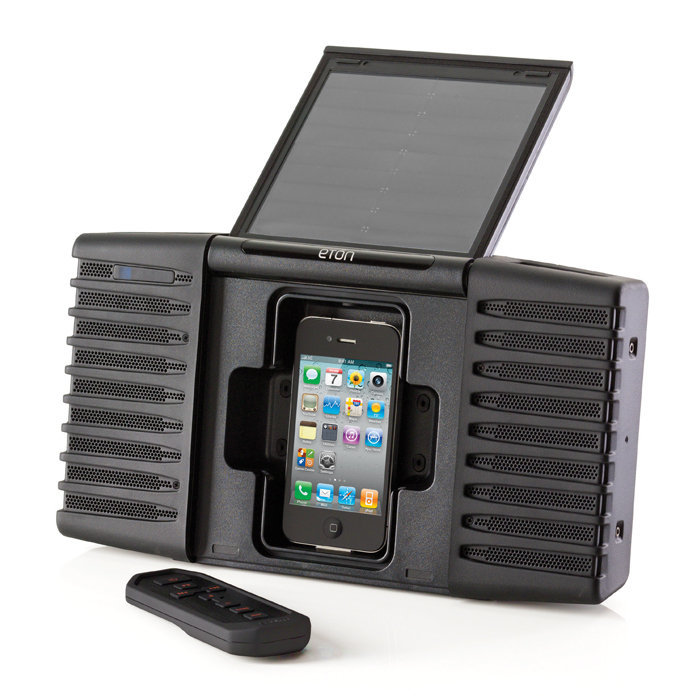 A Solar iPod Player