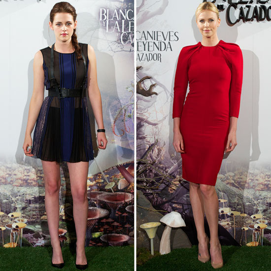 Follow Charlize and Kristen as they take Snow White and the Huntsman on a stylish worldwide tour.