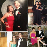 Ball gowns, French twists, and a lot of corsages — peep all of our old prom pictures from yesteryear.