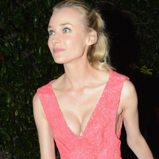 Diane Kruger And Friends Wear Coral At The Calvin Klein Women In Film Party At Cannes