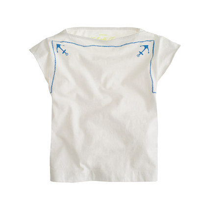 Crewcuts Girls' Anchor Scarf Tee ($29)