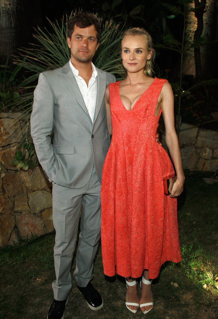 Joshua Jackson and Diane Kruger attended the Women in Film celebration.