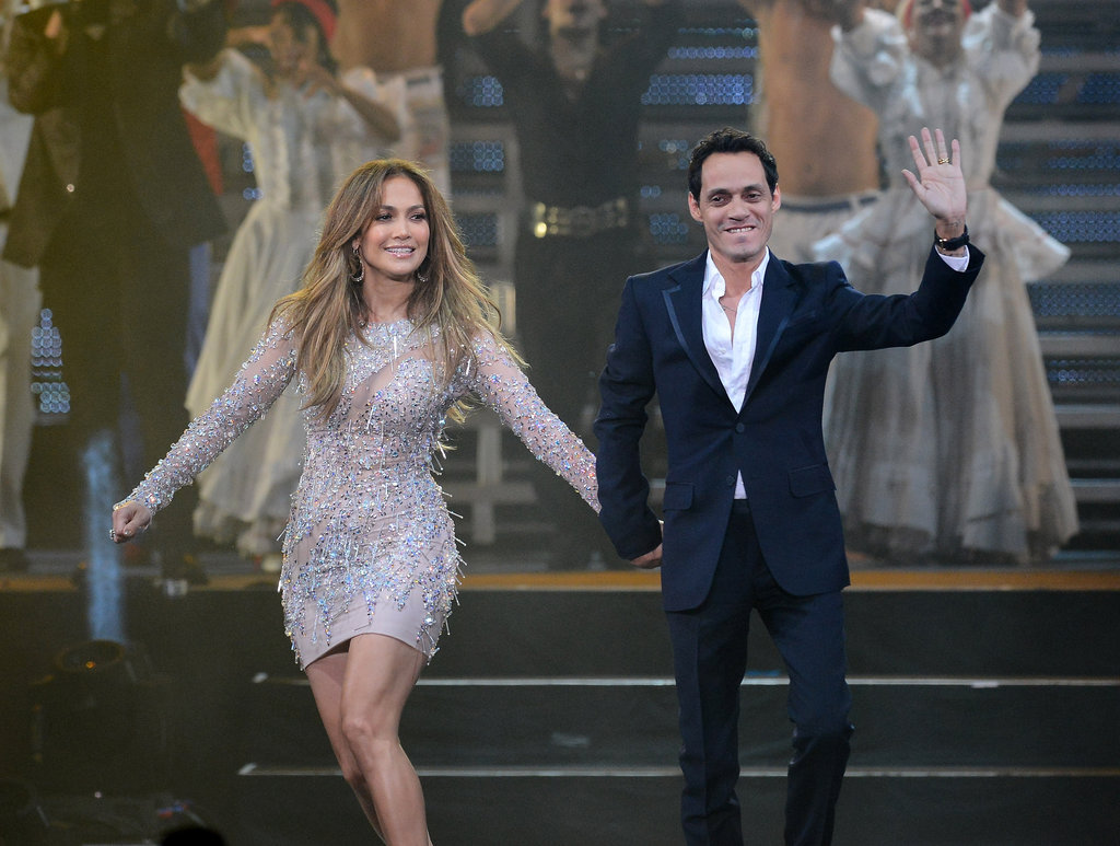 Jennifer Lopez Takes the Stage With Marc Anthony Then Parties With Casper Smart