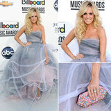 Pictures of Carrie Underwood in Oscar de la Renta Gown on the Red Carpet for the 2012 Billboard Music Awards: Approve?