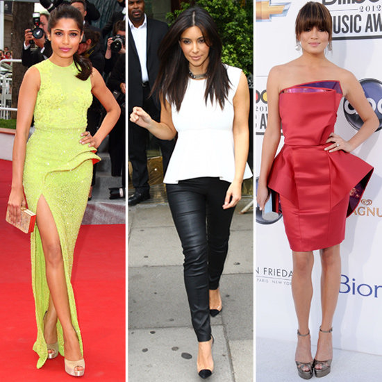 Shop 12 Perfect Peplum Pieces Inspired by Celebs
