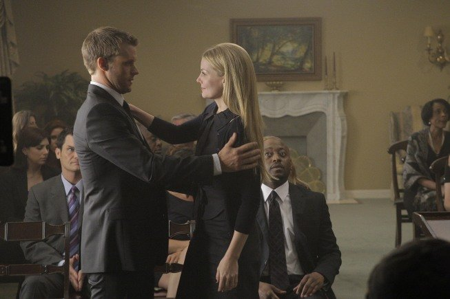 Jennifer Morrison and Jesse Spencer on House. Photo courtesy of Fox