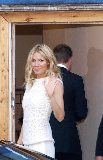 Gwyneth Paltrow attended a Clinton Foundation event in London.