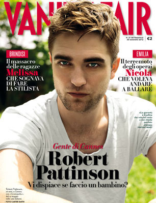 Robert Pattinson Vanity Fair Interview on Robert Pattinson On The Cover Of Vanity Fair  Italy  And Interview