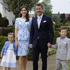 Princess Mary Family Pictures at Princess Athena of Denmark Christening